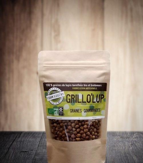 Grillo'Lup 100 g : graines de lupin torréfiées