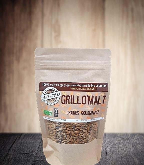 Grillo'Mal 100 g : Malt d'orge toasté