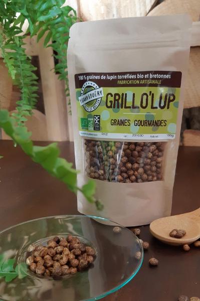 Nouveaute Grillo Lup - graines de lupin pour l'apéro