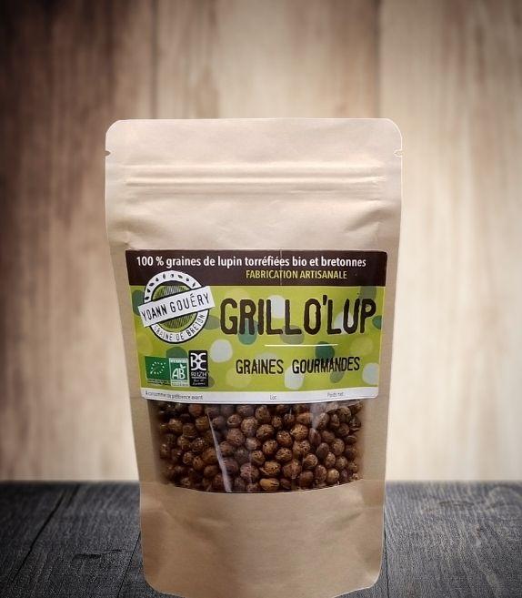 Grillo'Lup 400 g : graines de lupin torréfiées