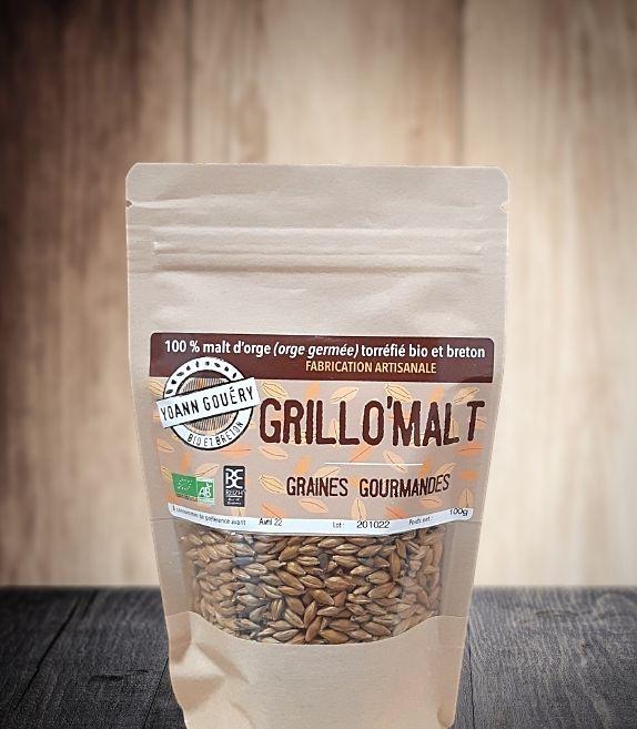 Grillo'Mal 400 g : Malt d'orge toasté