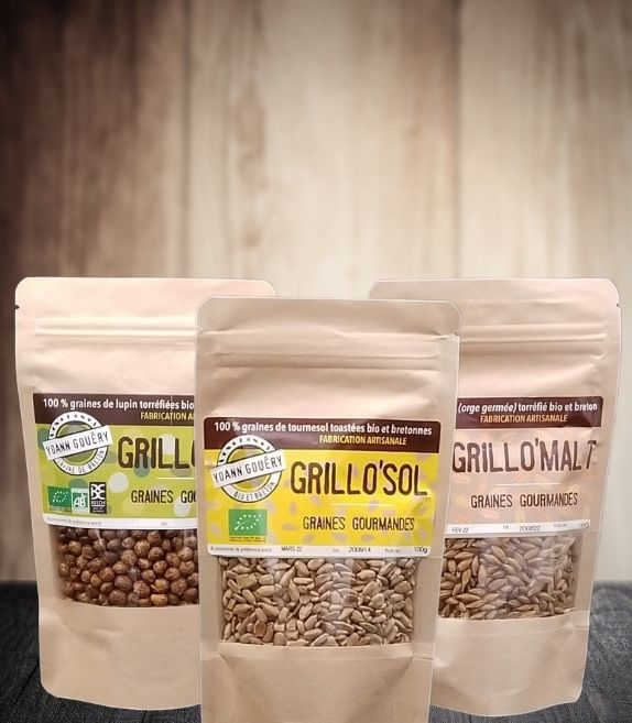 Pack ginitiation apéro graines à grignoter