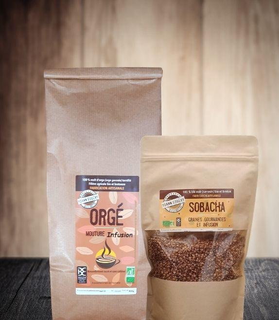 Pack infusions XL : café d'orge et sobacha
