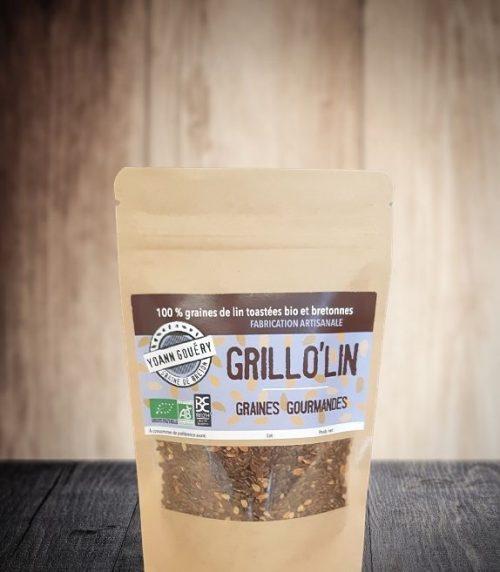 Grillo' Lin : des graines de lin torréfiées pour booster vos recettes