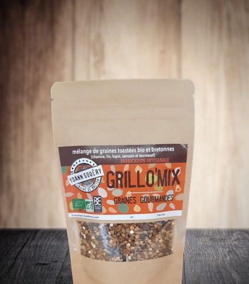 Grillo Mix : graines torréfiés