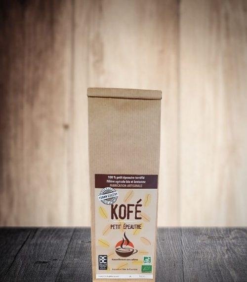 Kofé, boisson à la base du petit épeautre. Faible teneur en gluten
