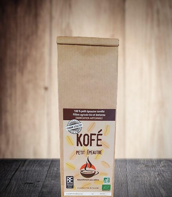 Kofé, boisson énergisante et digestive à la base du petit épeautre