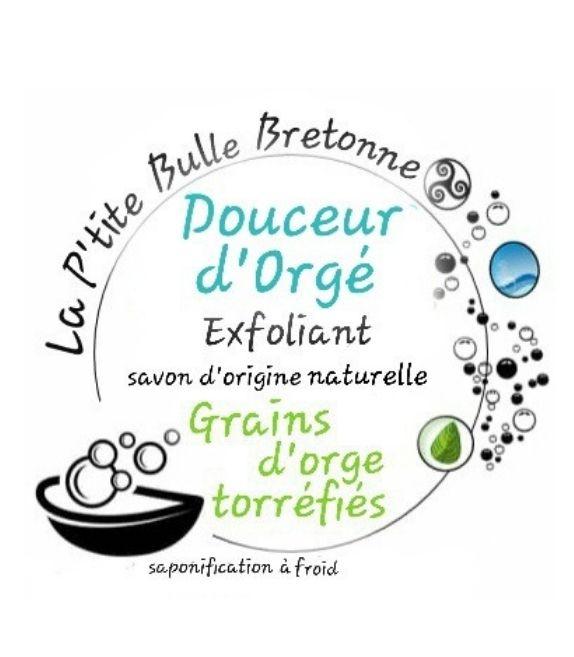 La petite bulle bretonne - Savon Douceur d'Orgé